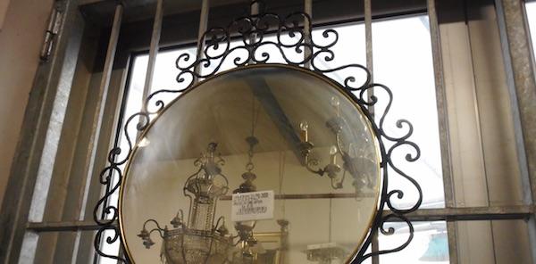 Specchio in ferro battuto mobili usati usato d 39 autore - Chi acquista mobili usati ...