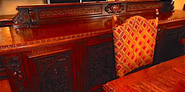Sala completa in rovere mobili usati usato d 39 autore - Chi acquista mobili usati ...