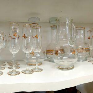 Servizio Bicchieri di Cristallo