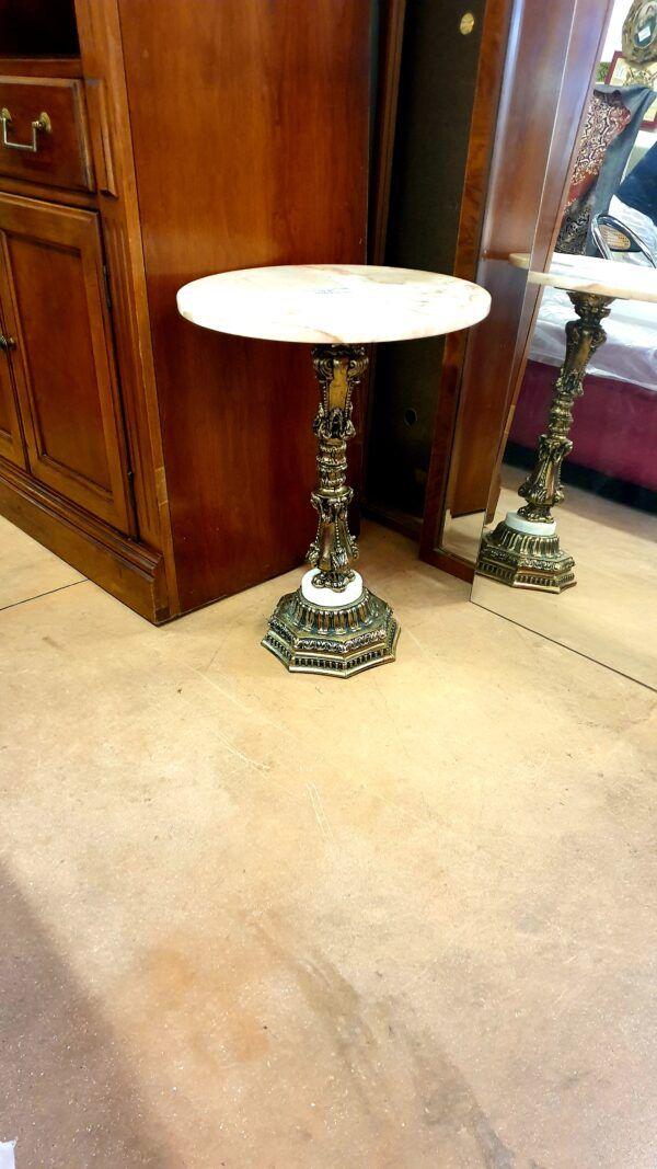 Tavolino Tondo in marmo