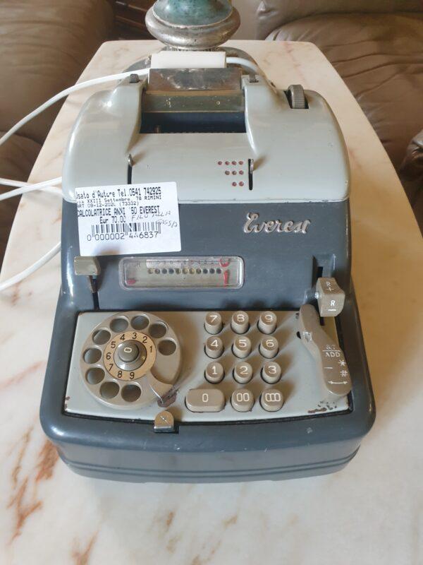 Calcolatrice anni 50