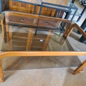 Tavolino classico in Vetro