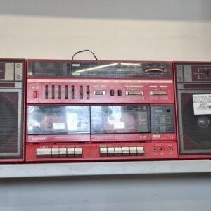 Radio più cassette vintage