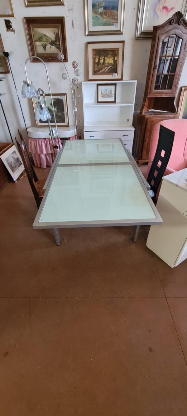 Tavolo Quadrato Allungabile